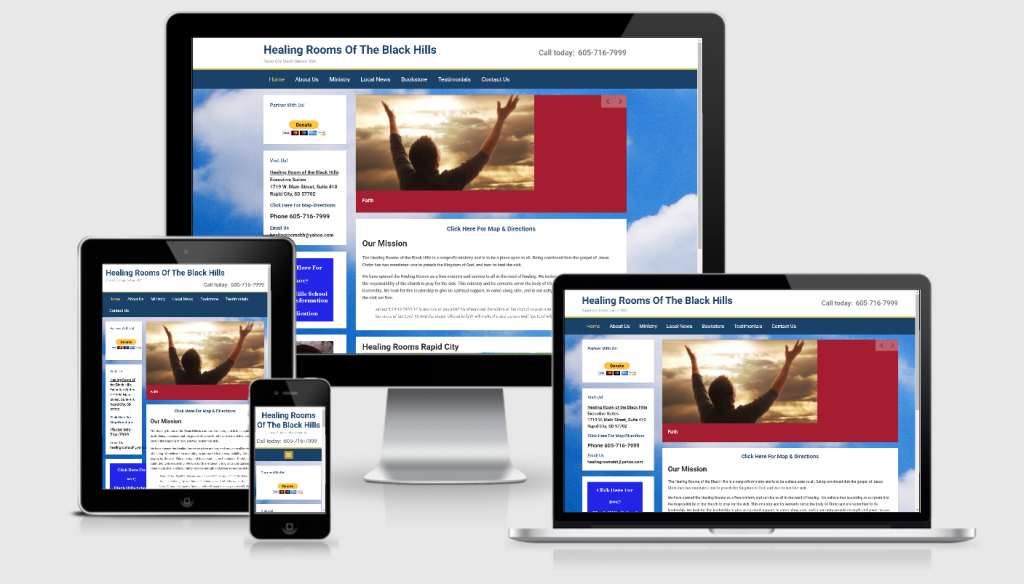 Non Profit Website Portfolio