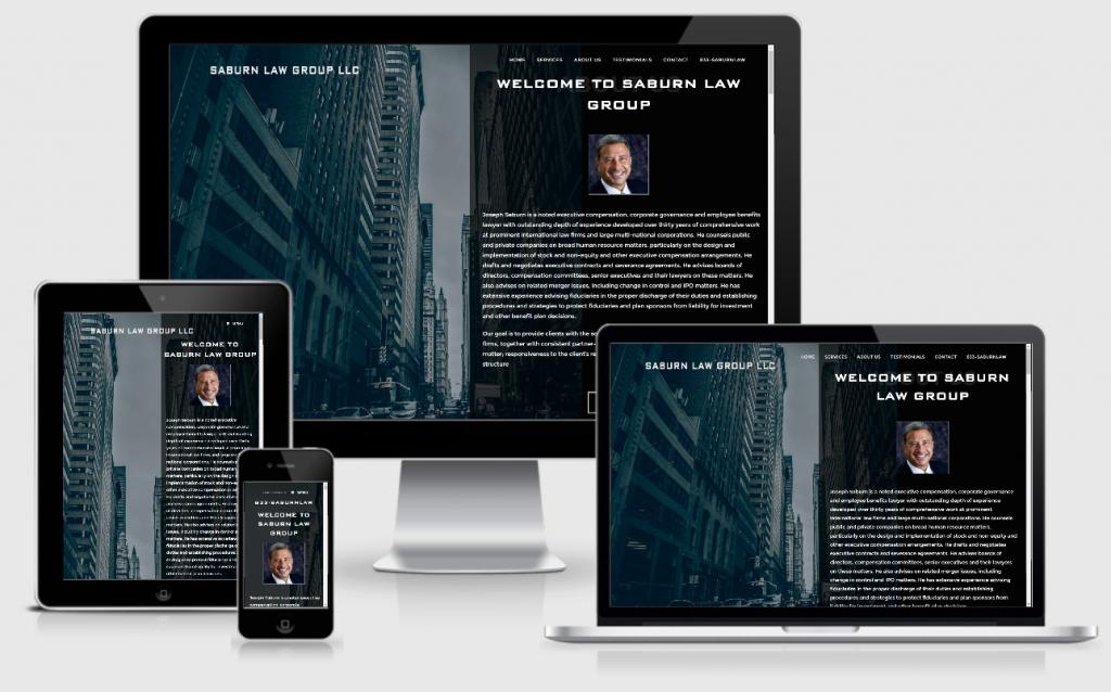 Corporate Attorney web design
