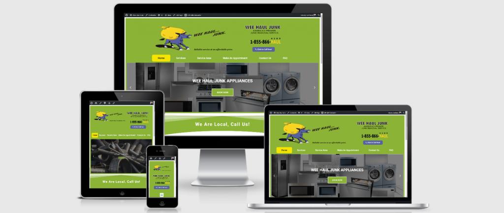 Wee Haul Junk Portfolio Webiste